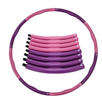 Обруч Хулахуп d=100 см, 1.2 кг inSPORTline 6859 pink-violet (2982)