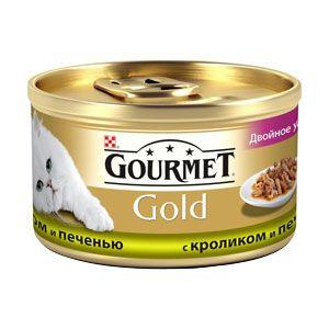 купить Gourmet Gold (с кроликом и печенью), 85гр в Кишинёве