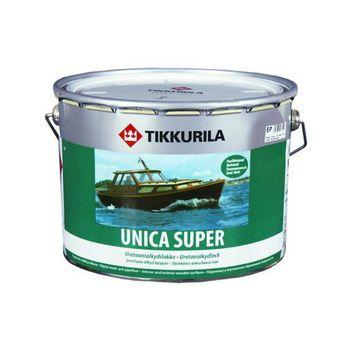 Tikkurila Лак Unica Super Полуматовый 9л