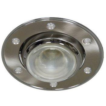 Feron Встраиваемый светильник AL2014 R-50 хром