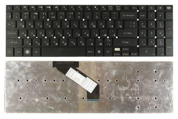 Keyboard Gateway NV57H NV55S NV75S NV77H NV76R NV52L NV56R PackardBell LK11 LK13 LS11 TS11 TS13 LS44 LV11 LV44 w/o frame ENG/RU Black
