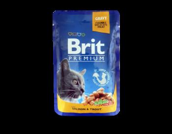 купить Brit Premium Кусочки c курицей и индейкой в Кишинёве