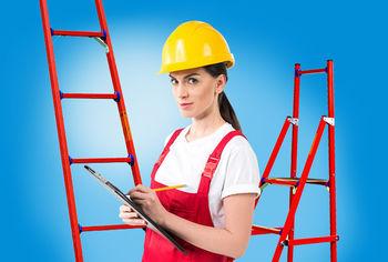 купить Односекционная диэлектрическая лестница Н-2,8м, 1x7ст в Кишинёве