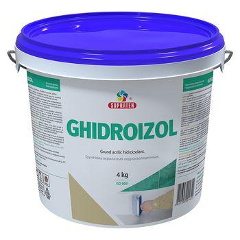 Supraten Грунтовка гидроизоляционная Ghidroizol 4кг