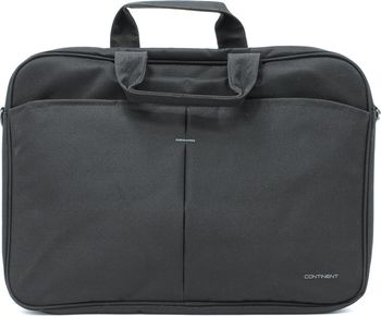 "CONTINENT NB bag 17"" - CC-018 Black, Top Loading"
