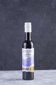 купить Вино безалкогольное Casa Petru Cabernet Sauvignon красное полусладкое, 0.375л в Кишинёве