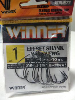 Крючки Winner 1# 10 шт
