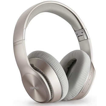 Edifier W820BT Gold / Bluetooth and Wired On-ear headphones with microphone, BT Type 4.1, 3.5 mm jack, Dynamic driver 40 mm, Frequency response 20 Hz-20 kHz, On-ear controls, Ergonomic Fit, Lifetime up to 80 hr