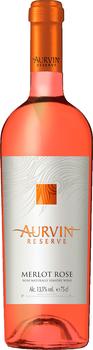 Вино Резерва Мерло Розе Аурвин, розовое сухое, 0,75 л
