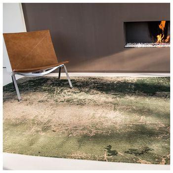 купить Ковёр ручной работы LOUIS DE POORTERE, Mad Man, Dark Pine 8723 в Кишинёве