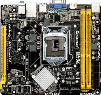 MB S1150 Biostar H81MHV3, Socket 1150, Intel H81, Dual 2xDDR3-1600, CPU Intel graphics, HDMI, 1x PCI-Ex16, 2x