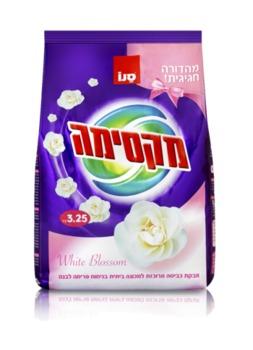 купить Sano Maxima White Blossom Стиральный порошок концентрат Без фосфата Белое Цветение 3,25кг в Кишинёве