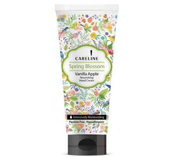 купить 26.59 CARELINE Крем для рук Spring Blossom Vanilla Apple (100 мл.) 992409 в Кишинёве