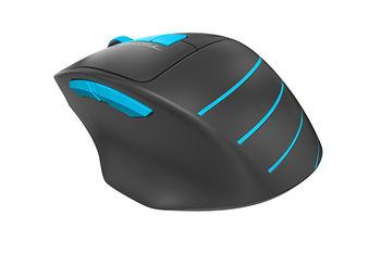 Wireless Mouse A4Tech FG30, Black/Blue