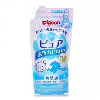 купить Гель для деликатной стирки детской одежды Pigeon, без фосфора и запаха, 500 мл, сменный блок в Кишинёве