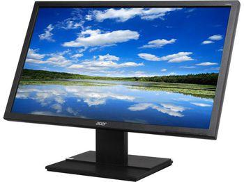 """24.0"""" ACER LED V6 V246HLBMD Black (5ms, 100M:1, 250cd, 1920x1080, DVI, Speakers) [UM.FV6EE.007]"""