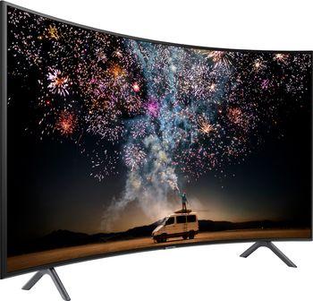 """купить """"55"""""""" LED TV Samsung UE55RU7300UXUA, Black (3840x2160 Curved UHD, SMART TV, PQI 1500Hz, DVB-T/T2/C/S2) (55"""""""" Black, 3840x2160 Curved UHD Smart TV (Tizen 5.0 OS), PQI 1500Hz, HDR10+, HLG, 3 HDMI, 2 USB, Wi-Fi, DVB-T/T2/C/S2, OSD Language: ENG, RO, RU, Speakers 2x10W Dolby Digital Plus, 18.1Kg )"""" в Кишинёве"""
