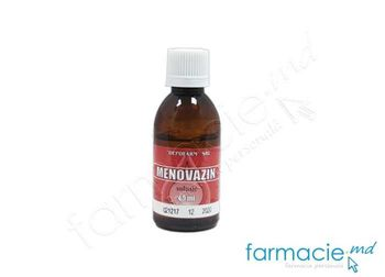 купить Menovazin sol. 40ml (Depofarm)(TVA20%) в Кишинёве