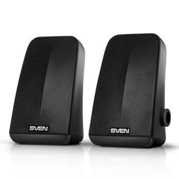 """купить Speakers  SVEN """"380"""" Black, 5w, USB в Кишинёве"""