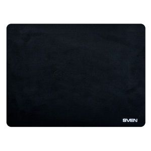 SVEN HC-01-03, Mouse pad, Dimensions: 297 x 188 x 0.5mm, Material: ultrasoft material on rubberized basis, Protects the laptop screen, Can be used for dusting the monitor, Black