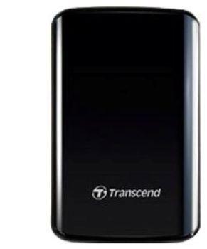 """cumpără 1.0TB (USB3.0) 2.5"""" Transcend """"StoreJet 25D3"""", Glossy Black, Shock-Resistant în Chișinău"""