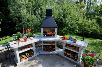 купить Угловой комплекс барбекю - BBQ ATLANTIK в Кишинёве