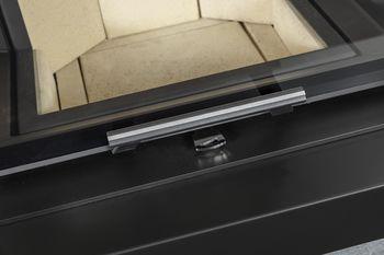 купить Дизайнерская аккумуляционная каминная печь ROMOTOP CARA CS 02 - с выдвижной подъемной дверцей в Кишинёве