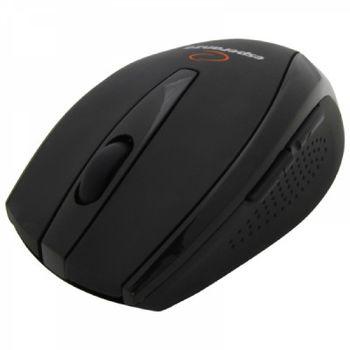 Mouse Esperanza EM114, Bluetooth Laser, 1600DPI, 5D - 5 Buttons, Rubber Coated, USB, Black