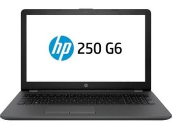 "HP 250 G6 Dark Ash Silver, 15.6"" HD (Intel® Core™ i3-7020U 2.30GHz (Kaby Lake), 4GB DDR4 RAM, 1.0 TB HHD, Intel® HD Graphics 520, w/o DVDRW, CardReader, HDMI, VGA, WiFi-AC/BT4.2, 3cell, VGA Webcam, RUS, FreeDOS, 1.86 kg)"