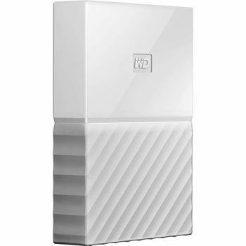 "2.5"" External HDD 2.0TB (USB3.0)  Western Digital ""My Passport"", White, Durable design"