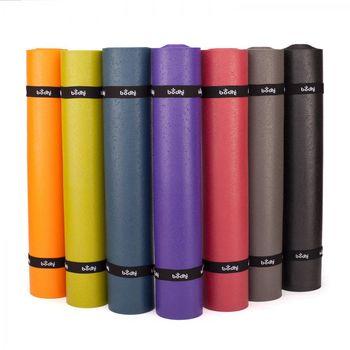 Коврик для йоги 200x80x0.45 см PVC Bodhi Rishikesh Premium XL 80 (1347)