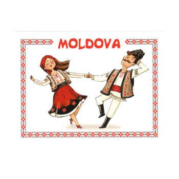 cumpără Magnet de frigider - Costum Tradițional în Chișinău