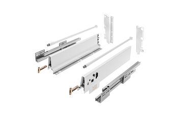 Modern Box alb L-500 H-210 deschidere totală cu amortizor