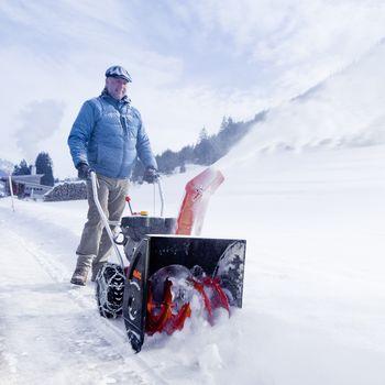 AL-KO снегоуборщик бензиновый SNOWLINE 620 E II