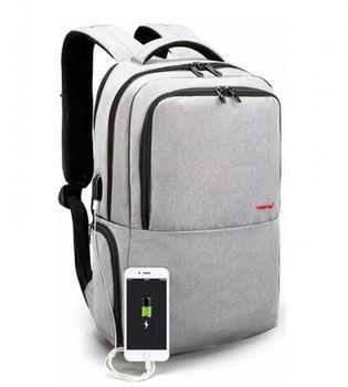 """cumpără Rucsac urban Tigernu T-B3259 pentru laptop de 15.6"""", impermiabil, cu USB-port, gri în Chișinău"""