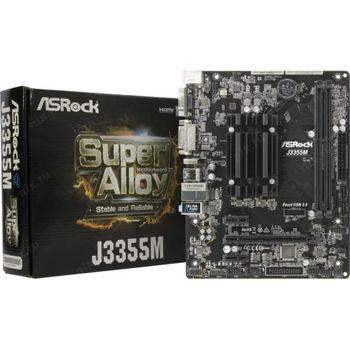 B ASRock J3355M (Celeron APOLLO LAKE Dual-Core J3355/2xDDR3/2xSATA3, mATX)