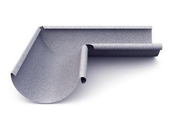 купить Угловой стык внутренний 90º (125 mm) Al-zn в Кишинёве