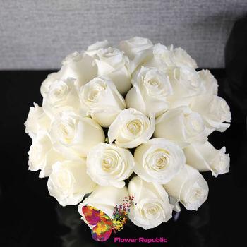 cumpără Trandafiri albi in vase în Chișinău