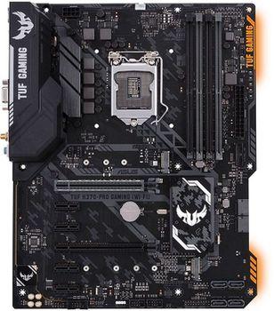 ASUS TUF H370-PRO GAMING, Socket 1151, Intel® H370 (8th Gen CPU), Dual 4xDDR4-2666, 2xPCIe X16, CPU Intel graphics, VGA, HDMI, DP, 6xSATA3, RAID, 2xM.2 slot, ALC887 HDA, GbE LAN, 2xUSB3.1 Gen 2, 5xUSB3.1 (1xType-C & 4xType-A), TUF comp, 24/7, ATX