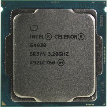 Intel® Celeron® G4930, S1151, 3.2GHz (2C/2T), 2MB Cache, Intel® UHD Graphics 610, 14nm 54W, Box