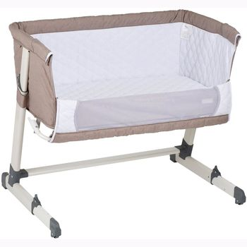 купить Co-sleeper 2 в 1 BabyGO Together Grey в Кишинёве