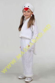 Карнавальный костюм: Птичка белая