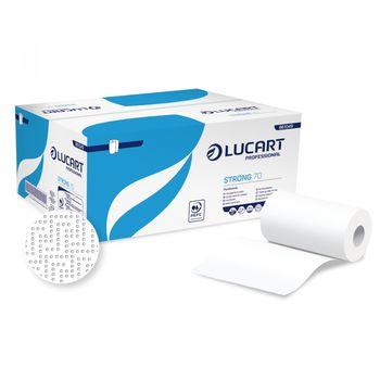 Strong 70 - Бумажные полотенца белые 2 слоя 190 отрывов