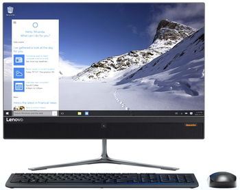 "купить All-in-One PC - 21,5"" Lenovo Ideacentre 510 FullHD (F0CB00UFUA) Intel® Core® i3-7100T 3,4GHz, 4GB DDR4 RAM, 1TB HDD, DVD-RW, Intel® HD 630 Graphics, HD Webcam, Wi-Fi-AC, BT 4.0, USB KB&MS, no OS,  Black в Кишинёве"