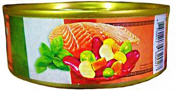 купить Сёмга по Итальянски (с фасолью и овощами) 240гр в Кишинёве