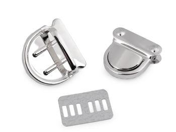 Închizătoare geantă / servietă / argintiu