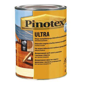 Pinotex Пропитка Pinotex Ultra Палисандр 1л