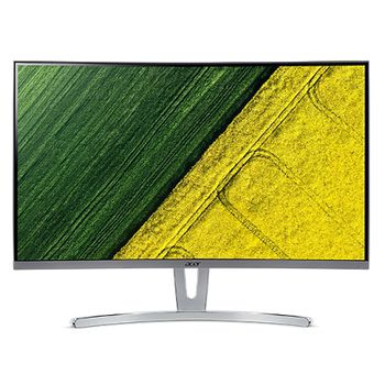 "27.0"" ACER VA CURVED LED ED273WMIDX Borderless Silver (4ms, 16:9,100M:1, 250cd, 1920x1080, DVI, HDMI, FreeSync, Speakers) [UM.HE3EE.005]"