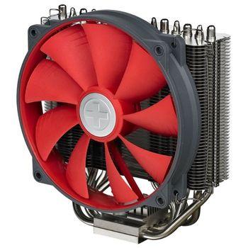 "Xilence Cooler XPCPU.M608.PRO  ""M608 PRO"",  Socket 1366/1155/775 & AM3/AM2+, up to 150W, 120х120х25mm, 2Component Fan, 500~1500rpm, <17,8dBA, 66,3CFM, 4 pin, PWM, 4 heatpipes"