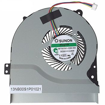 CPU Cooling Fan For Asus X550 X552 F550 X450 F450 A450 A550 (4 pins)